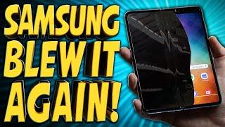 Samsung's Galaxy Fold Disaster - TechNewsDay