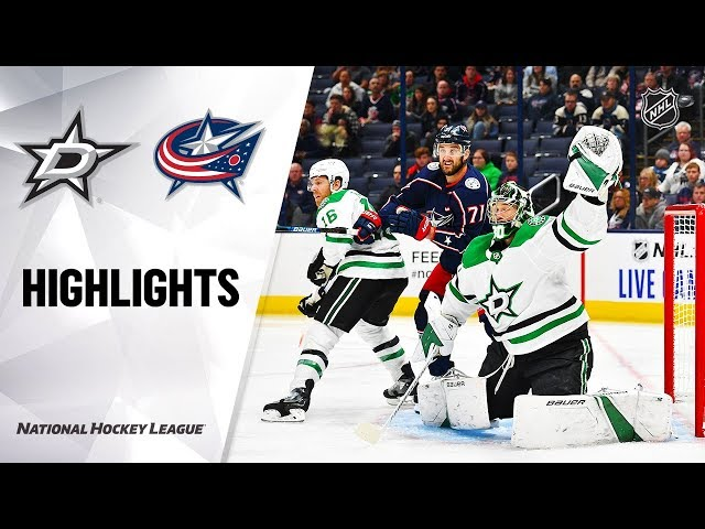 Stars  Blue Jackets 101619 Highlights