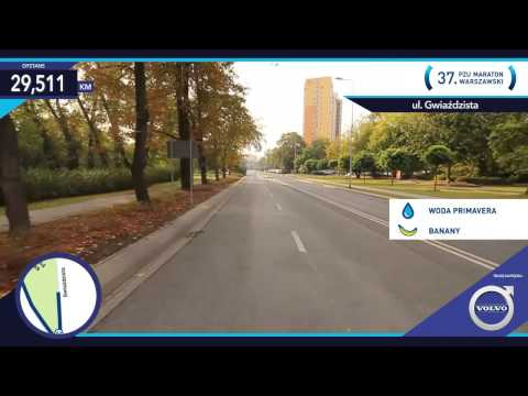 Trasa 37. PZU Maraton Warszawski