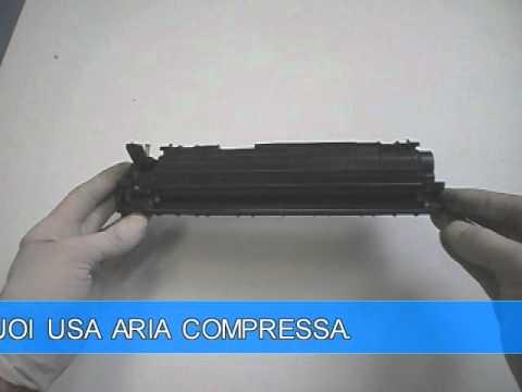 Rigenerazione toner HP 1010 Q2612A CANON FX10: ricarica cartuccia toner