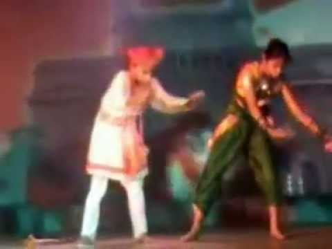 akki dance on song gondhal