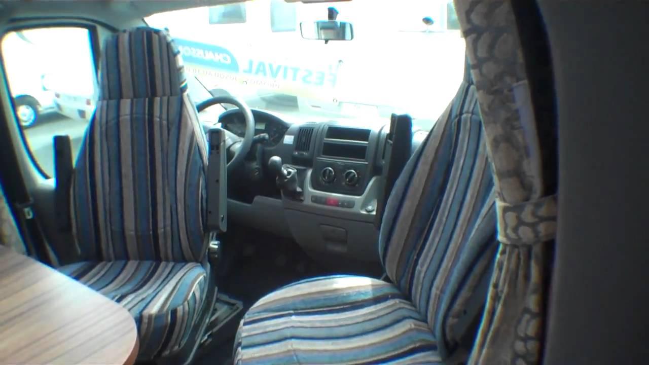 camping car chausson welcome 72 profile 2009 la roche. Black Bedroom Furniture Sets. Home Design Ideas