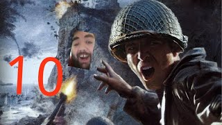Call of Duty 2 Gameplay Part 10: WE MUST ESCAPE!!!