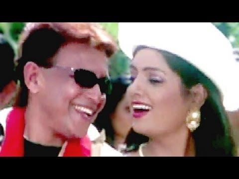 Style Mare Chhokariya - Mithun, Udit Narayan, Deepa Narayan, Chalbaaz Song