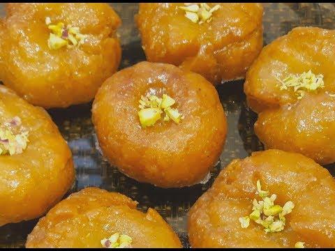 Badusha   Balushahi   How to make Badusha at home   Badhusha - Indian Sweet