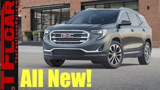 2018 GMC Terrain: Now with New Push Button Transmission & Diesel Engine Option