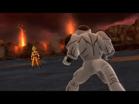 Dragon Ball Z Ultimate Tenkaichi - PS3 / X360 - Goku Vs Frieza Gameplay Video