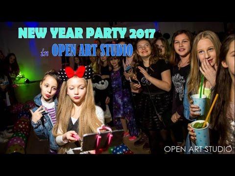 Новогодняя вечеринка в Open Art Studio | MILENA WAY