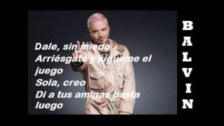 Pitbull & J Balvin Ft. Camila Cabello - Letra Hey Ma Spanish Version