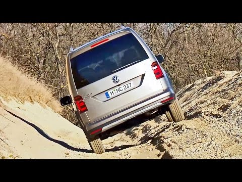 2016 Volkswagen Caddy Alltrack 4Motion - Test Drive & Review
