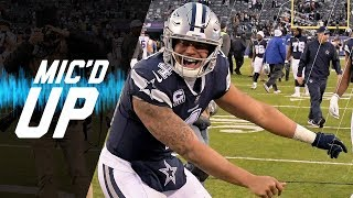 Dak Prescott Mic'd Up vs. Giants \