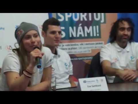 Eva Samková a Jaroslav Kulhavý - Sportuj s námi !