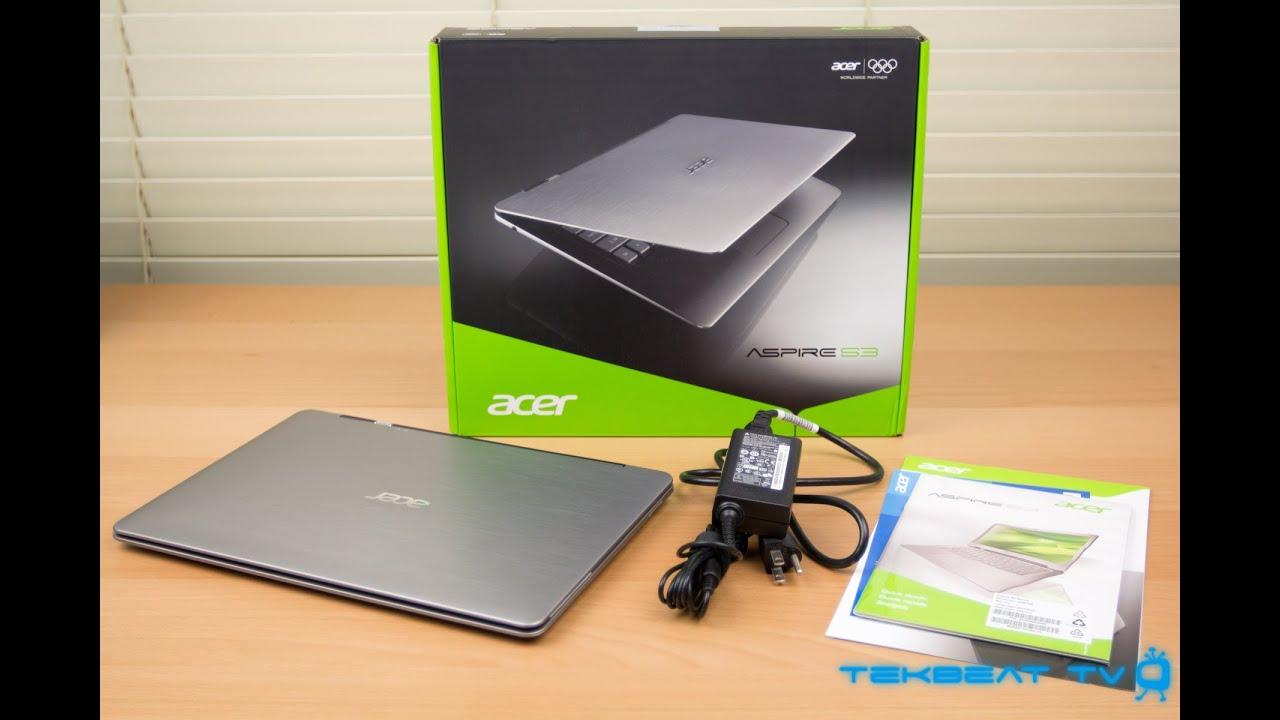 Acer Aspire Ultrabook i5 Acer Aspire s3 Ultrabook