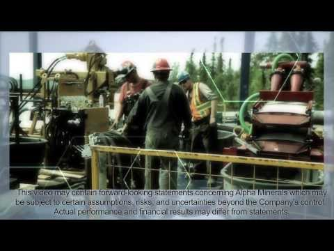 Alpha Minerals Patterson Lake South, Summer 2013 Drill Program Corporate Video #2 Update