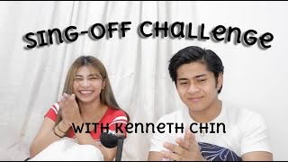 Sing-off Challenge (Maikee's Letters) with Kenneth Chin