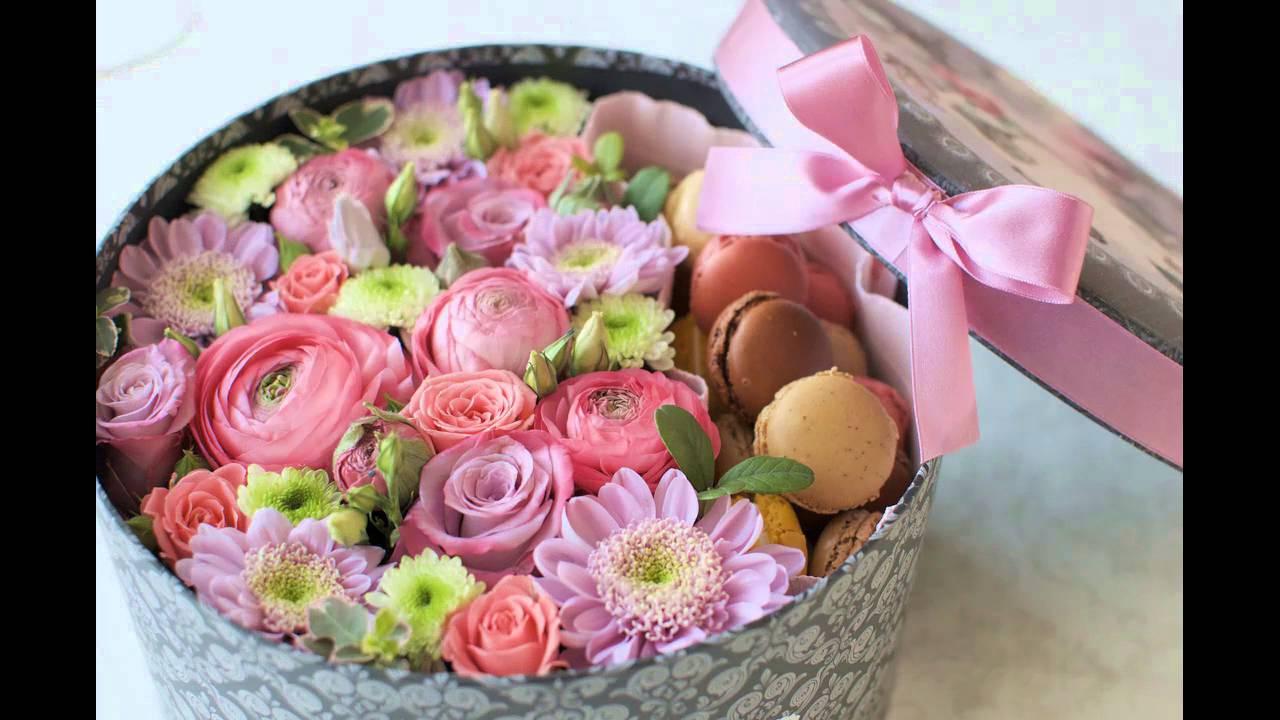 Коробка с цветами своими руками