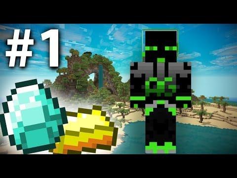 Minecraft: Mythical Paradise Adventure Ep. 1 - Near Death