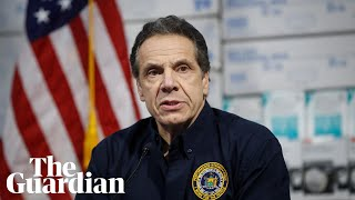 Coronavirus: New York governor Andrew Cuomo gives briefing – watch live