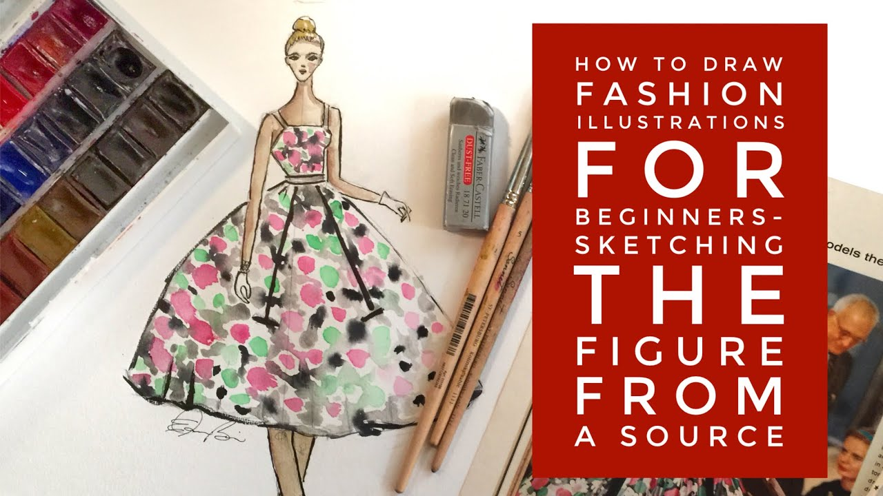 Fashion drawing for beginners book 53