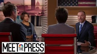 Full Panel: President Trump Renews Racial-Resentment Attacks | Meet The Press | NBC News