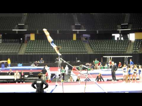 Amelia Hundley - 2012 Kellogg&#039;s Pacific Rim Championships Podium Training - Uneven Bars