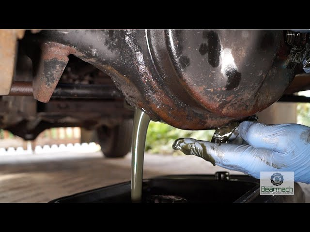 Replacing diff and transfer box oils - The Fine Art of ...