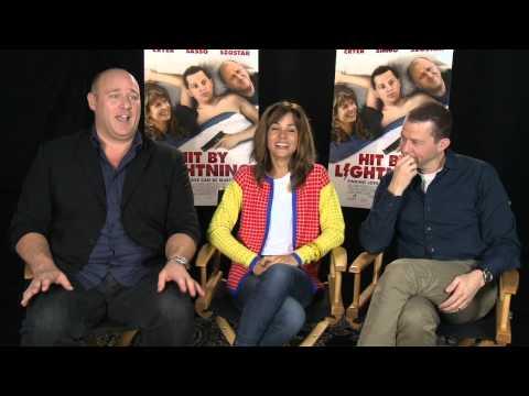 Hit By Lightning: Jon Cryer, Stephanie Szostak, & Will Sasso Exclusive Interview