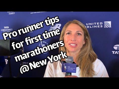 Pro Runner tips for first time marathoners @ New York City Marathon