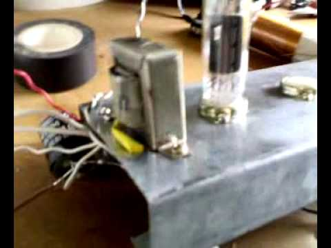 Ham Radio tube homebrew: MW Reaction Receiver RadioCapodIstria.mp4