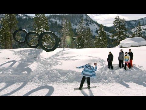 Mountain Top Snow Battle | Dude Perfect