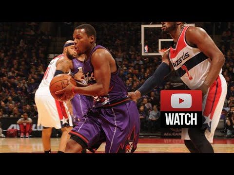 Kyle Lowry Triple-Double Highlights vs Wizards (2014.11.07) - 13 Pts, 10 Ast 11 Reb
