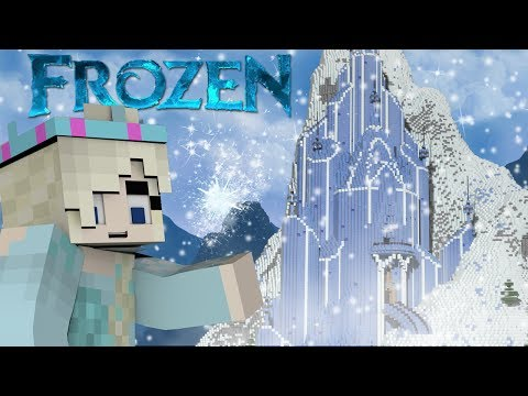 Minecraft   Disney Frozen Mod Showcase! (Elsa. Anna. Frozen Mod. Let it Go)