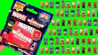 10 Disney Marvel Wikkeez Blind Bags The Avengers Loki Spiderman & Guardians of the Galaxy