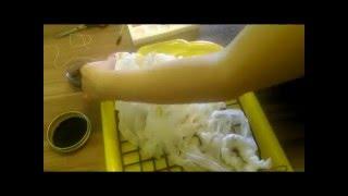 Shibori technique - combine. batik