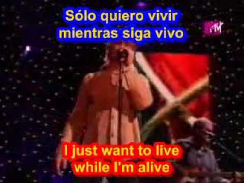 Bon Jovi It's my life ( SUBTITULADO INGLES ESPAÑOL )