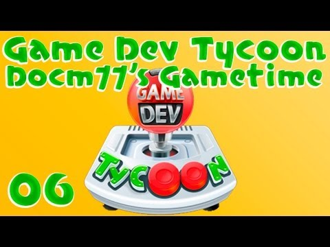 GOOD GAME MASS PRODUCTION! - Game Dev Tycoon w/ Docm77 - #6