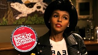 The Secret to Janelle Monáe's Hair & Her Awesome Life Motto – Breakfast with Bevan–Teen Vogue