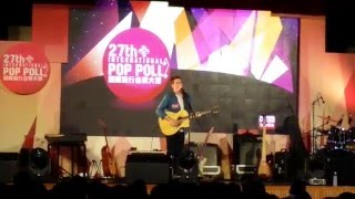 the 27th International Pop Poll 28042016~RTHK~Jamie Lawson ~singing~solo