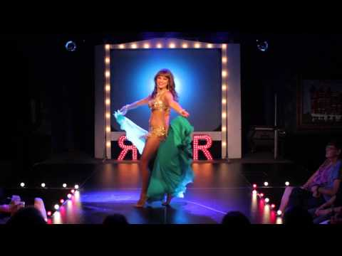 Alia Mohamed - Vintage Style Belly Dance - Belly Dance For Arabian Nights video