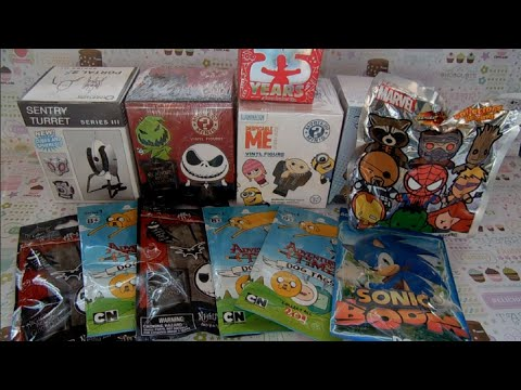 Blind Box Opening!-adventure Time, Despicable Me, Nightmare Before Christmas, & More! video