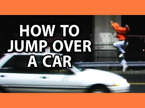 How To Jump Over A Car!