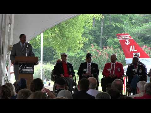 Tuskegee Airmen F-16 Dedication Ceremony