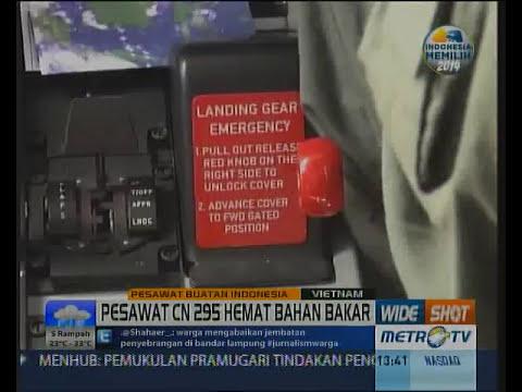 Pesawat CN 295 Produksi Indonesia Irit Bahan Bakar