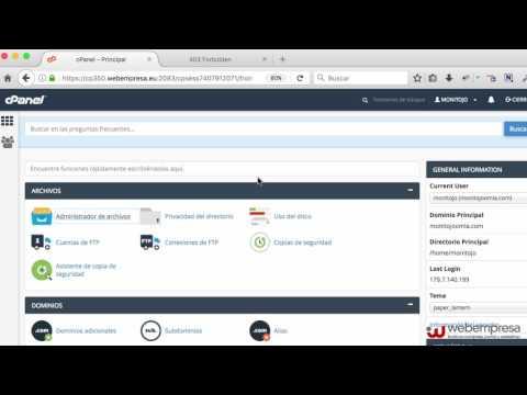 XCloner en WordPress, Backups y Restauraciones