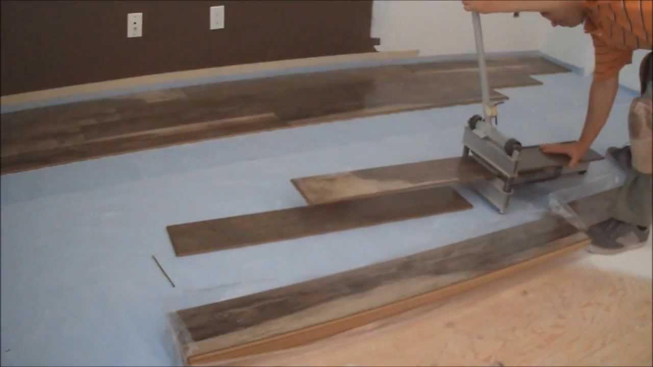 Laminate flooring installation tips how to start for Laminate flooring techniques