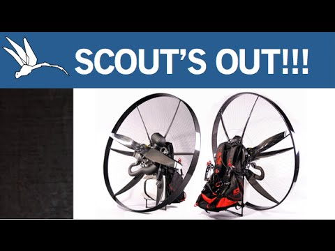 SCOUT The CARBON Paramotor!