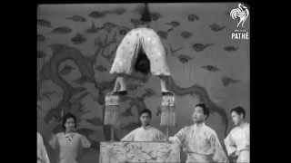 Compilation of old chinese contortionists