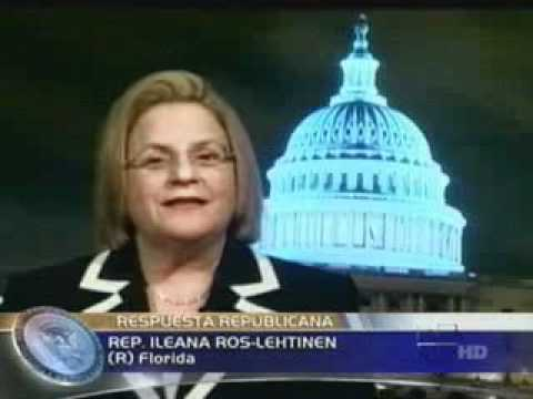 Chairman Ros-Lehtinen gives official response in Spanish to State of the Union