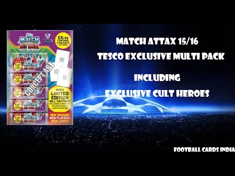 Good pack luck? IND PREMIERE MATCH ATTAX 2015/16 TESCO EXCLUSIVE MULTI PACKS