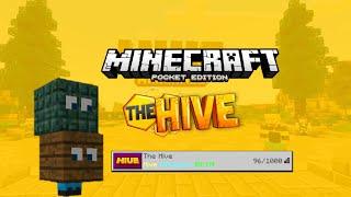 New Mcpe Hive Mini Games Server (Death Run, Hide & seek and Treasure Wars)